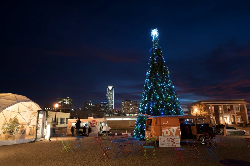 Okc Christmas Events.Downtown In December